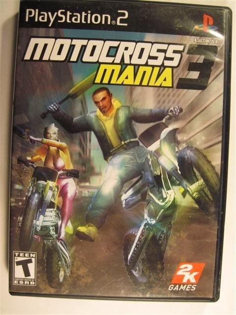 Motorcross Mania 3 Playstation 2 Game