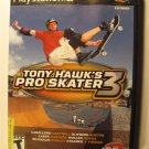 Tony Hawk's Pro Skater 3 Sony PlayStation 2 -  Jacket and instruction manual only – No Game