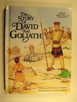 The Story of David and Goliath (Alice in Bibleland Storybook)