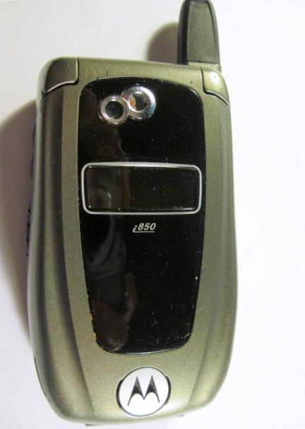 Motorola I850 Cell Phone 022713 For Parts Or Repair