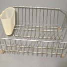 Vintage Kitchen Sink Dish Drying Drainer Rack 041413