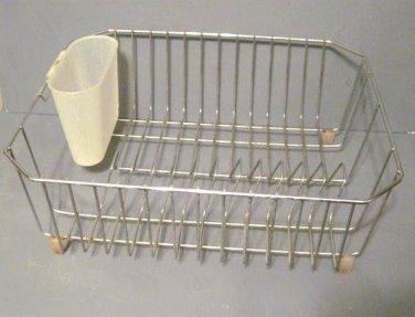 Vintage Kitchen Sink Dish Drying Drainer Rack 041413