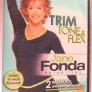 Jane Fonda Prime Time - Trim, Tone & Flex (DVD) New 042513
