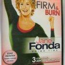 Jane Fonda: Prime Time - Firm & Burn - DVD New #042513