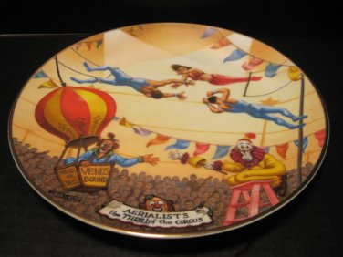 Ringling Bros. Barnum & Bailey Circus Collectible Plate Aerialist 052013