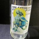 Two (2) Arbys Norman Rockwell Vintage Glasses 080913
