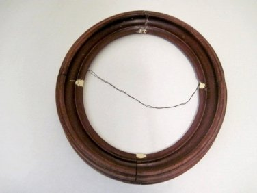 Antique Oval Picture Frame 100513