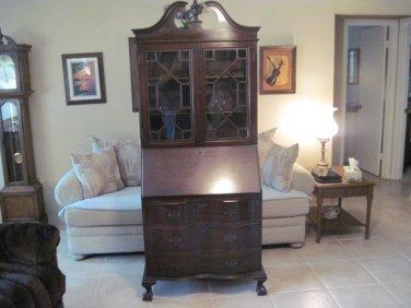 Antique Secretary Desk #041014