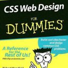 CSS Web Design For Dummies 2005 by Mansfield, Richard 0764584251