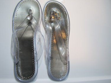 Sandals -Silver - New 021915
