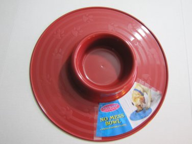 No Mess Pet Food Bowl #012015 X 2