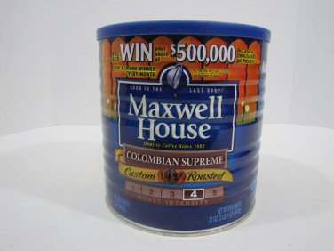 Maxwell House Coffee Can Vintage #051916
