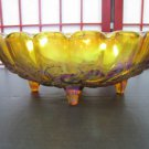 Carnival Glass Bowl #020117 Vintage