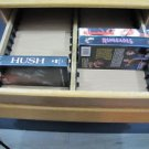 VHS Cassette Storage Drawer Vintage ##042015