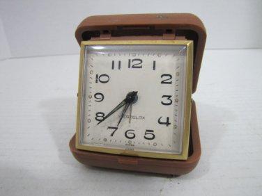 Travel Alarm Clock #041616 Vintage