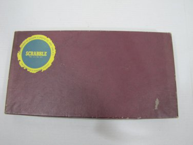 Scrabble Game by Selchow Righter Co. 1948 Vintage #062516 D