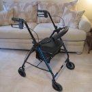 Walker Rollator Pro Basics Blue #06181615