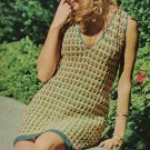 Vintage V-Necked Slide of a Dress Crochet Pattern