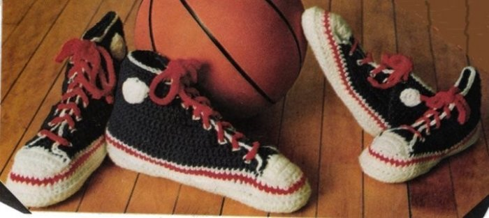 Crochet Cosy Sneakers Slipper for Men and Boys