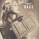 Vintage Quaker Smart Bags 40s Book Pattern Vol XVII for Crochet 21 Models on PDF