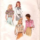 Vintage Butterick Women Blouse 60's Size 10
