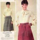 Vintage Pattern Butterick 3922 Classic Skirt 80s Size 14 UNCUT