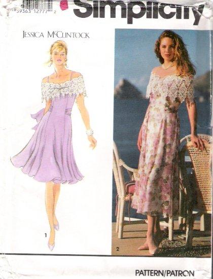 Vintage Pattern Simplicity 7910 Miss Dress 90s Size 10-14 UNCUT