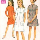 Vintage Pattern Simplicity 7451 Miss Dress 60s Size 11JP