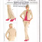 Pattern Burda 7618 Pants and Jacket Size 8-18 UNCUT