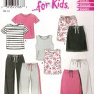 Pattern New Look 6172 Kid-Child T-Shirt - Skirt- Pant- Top Size 3-8
