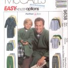 Pattern McCall 9636 Men Robe - Top - Pull-on Pants and Short All Size S to XL UNCUT