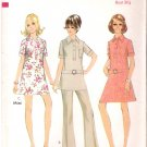 Vintage Pattern Style 2686 Dress - Tunic and Pants 60s Size Young.Jr Teen 10