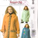 Pattern McCall's 5246 Misses' Jacket and Flower Pin Size X-Small to X-Large UNCUT