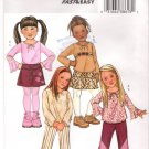 Pattern Butterick 4277 Girl Top - Skirt - Pants and Belt Size 6-7-8