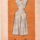 Vintage Full Apron 40s Pattern on PDF No 20 Plus Size 24 1/2