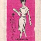 Vintage Mail Order M168 Ardanti Original Prominent Designer Miss Dress 60s Size 14 B34