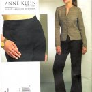 Pattern Vogue 1064 American Designer Anne Klein Misses Jacket and Pants Size 8-14 UNCUT