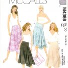 Pattern McCall's 4386 Misses Skirts Two Variations Size 12-18 UNCUT