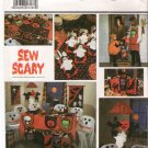 Pattern Simplicity 8889 Sew Scary Halloween Party Accessories 80s