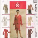 Pattern McCalls 4653 Misses Jacket and Skirt Size 8-14 UNCUT