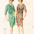 Vintage Pattern Butterick 3333 Dress with two Collars 60s Size 14 B34