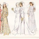 Vintage Pattern Style 4251 Wedding or Bridemaid's Dress 70s Size 14 B36 UNCUT