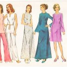Vintage Pattern Style 4250 Dress or Tunic and Trousers 70s Size 16 B38 UNCUT