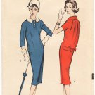 Vintage Pattern Advance 8684 Day Dress 50s Size 14 B34 UNCUT