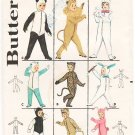 Vintage Pattern Butterick 3193 Children' Animal Costumes 60s Size Small 2-4