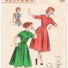 Vintage Butterick 6228 Dress with Petal Detail 50s Size 12 B30