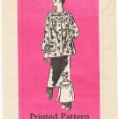 Vintage Pattern Anne Adams Mail Order 4810 Smock or Top 80s Size 10 B32.5 UNCUT