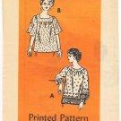 Vintage Pattern Anne Adams Mail Order 4529 Blouse 80s Size 12.5 B35 UNCUT