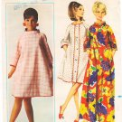 Vintage Butterick 4453 Dress with Funnel Neckline 60s Size 10-12 B31-32