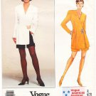 Vogue 2700 American Designer Donna Karan Misses' Jacket and Shorts 90s Size 6-8-10 UNCUT with LABEL